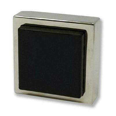 Square Polished Stainless Steel Wall Mounted Stop for Doors (5-Pack)