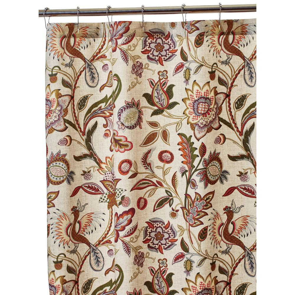 Shower Curtain in Fresco Home Decorators Collection  Bath Accessories The Depot