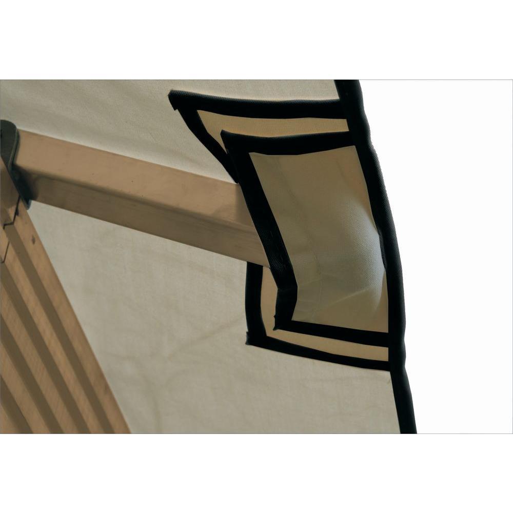 12 ft. x 12 ft. STC Seville and Santa Cruz Khaki Gazebo Replacement Canopy by