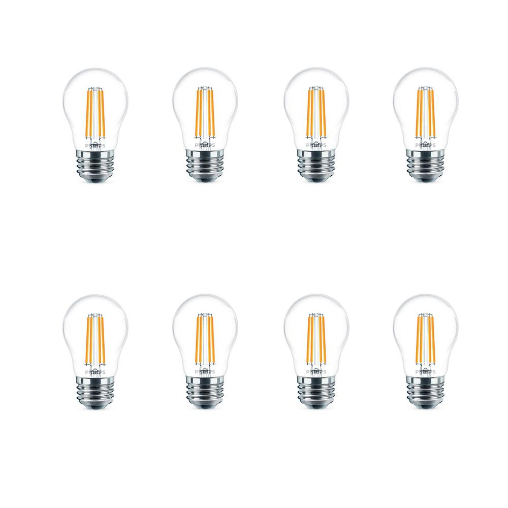 Philips 60-Watt Equivalent A15 Dimmable LED Light Bulb Daylight (8 per Case)
