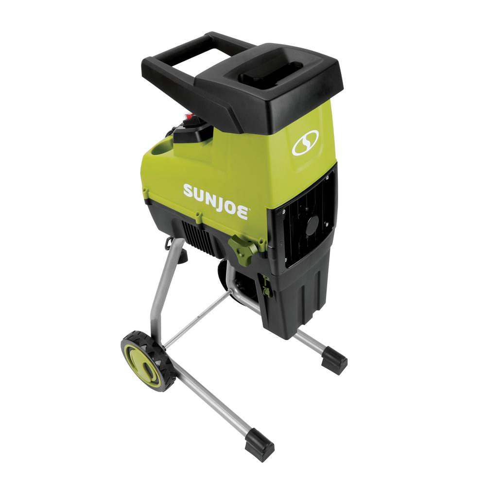 Electric Silent Wood Chippers and Shredder by Sunlight Joe