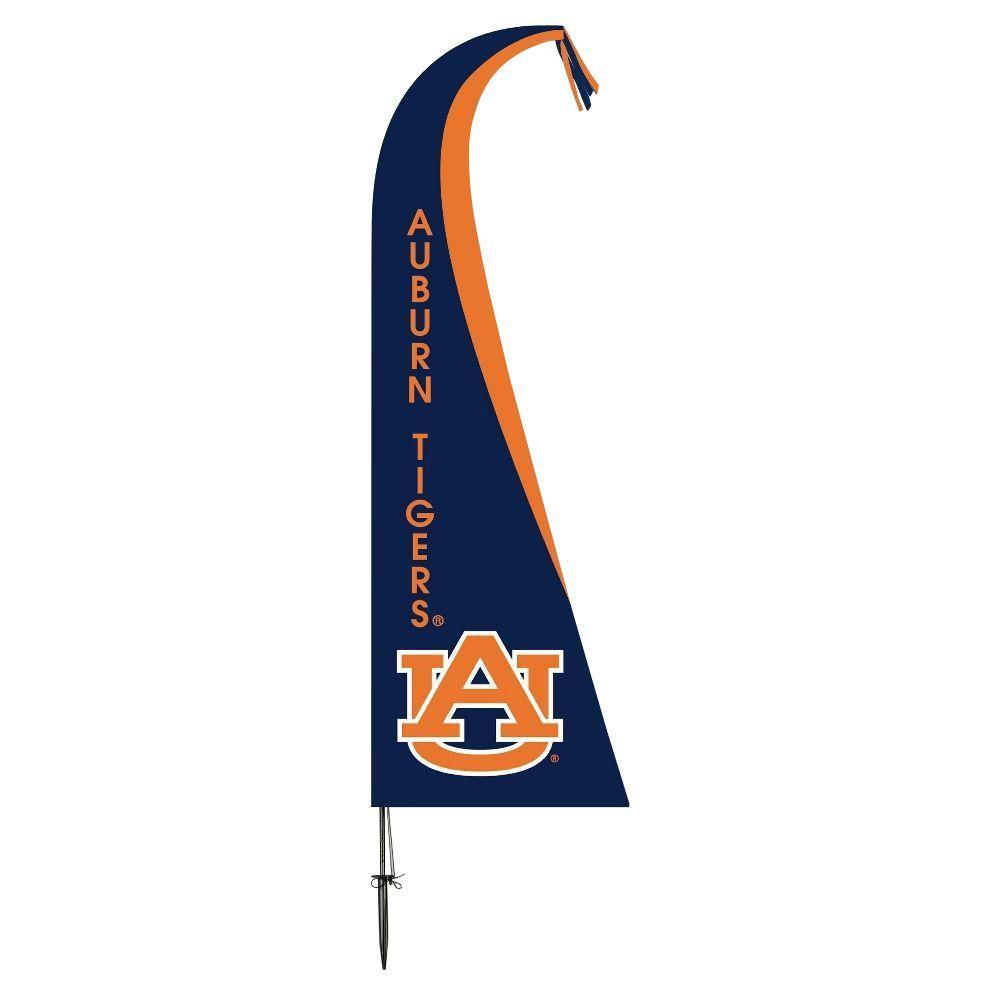 NCAA Auburn Tigers Feather 1 ft. x 1.5 ft. Flag