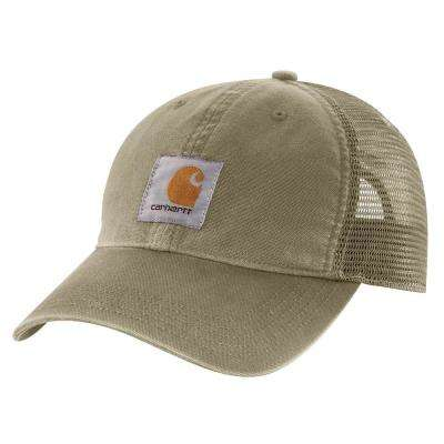 Men's OFA Burnt Olive Cotton Cap Headwear