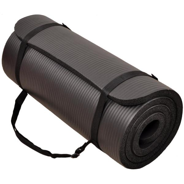 Primasole 【 Limited Brand】 Yoga Mat Folding Black Color Fitness Pilates PSS91NH048A 68 L/×24 W/×1//4 Inch Thick