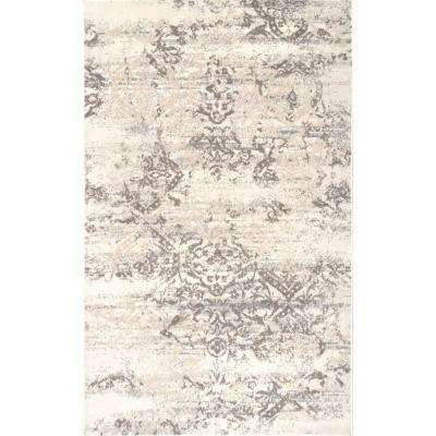 Freja Distressed Beige 9 Ft X 12 Area Rug