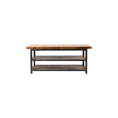Holbrook Storage Natural Reclaimed Bench