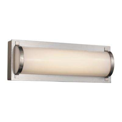 Fawcett 12-Watt Brushed Nickel Integrated LED Bath Light