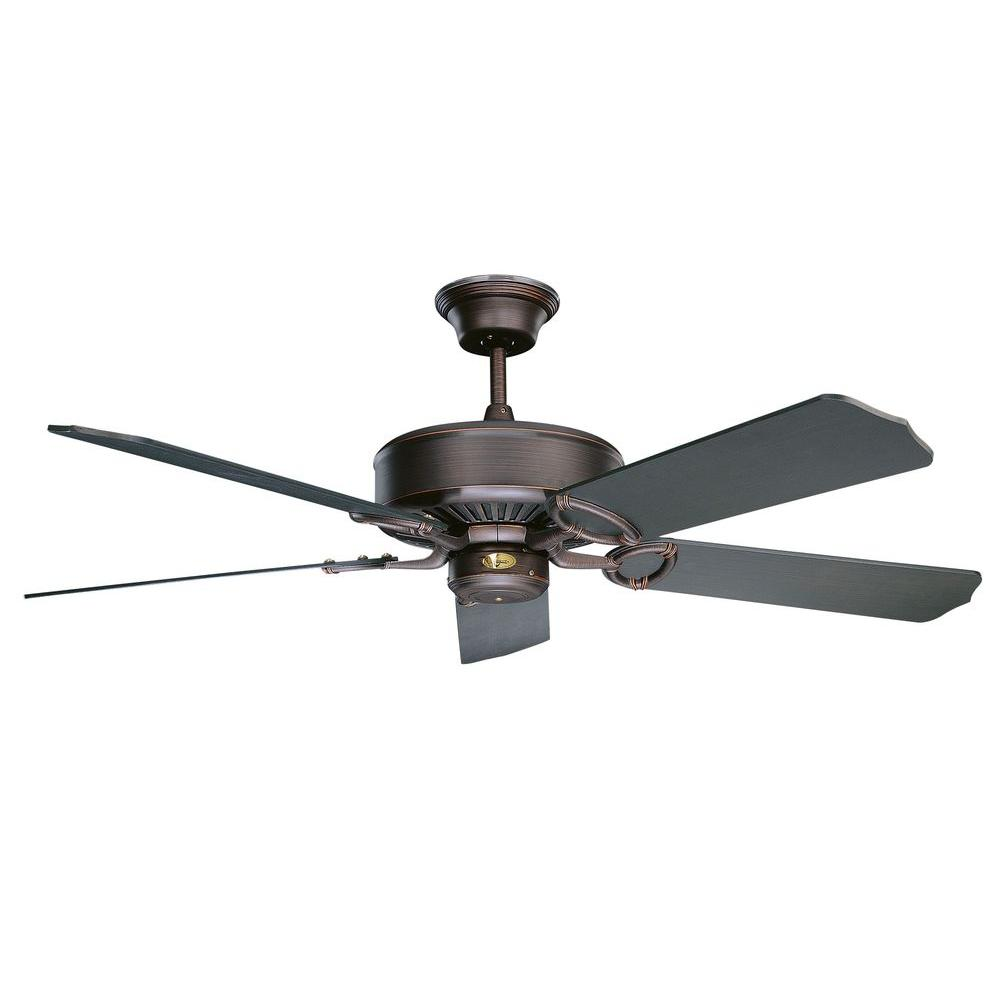 Madison Series 52 in. Indoor Oil Rubbed Bronze Ceiling Fan