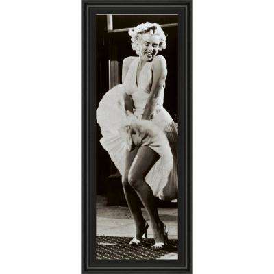 """18 in. x 42 in. """"The Seven Year Itch"""" by Anonymous Framed Printed Wall Art"""