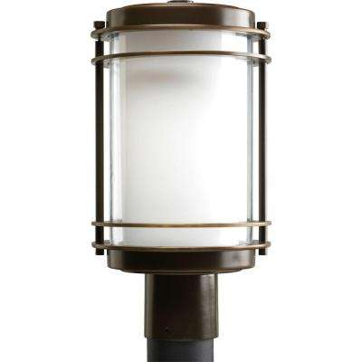 Penfield Collection 1-Light Oil-Rubbed Bronze Outdoor Post Lantern