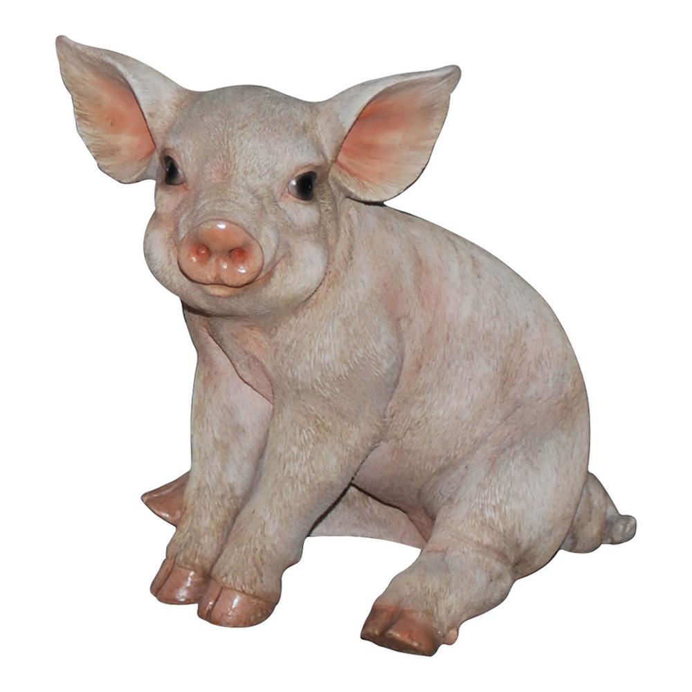 Large Pig Sitting