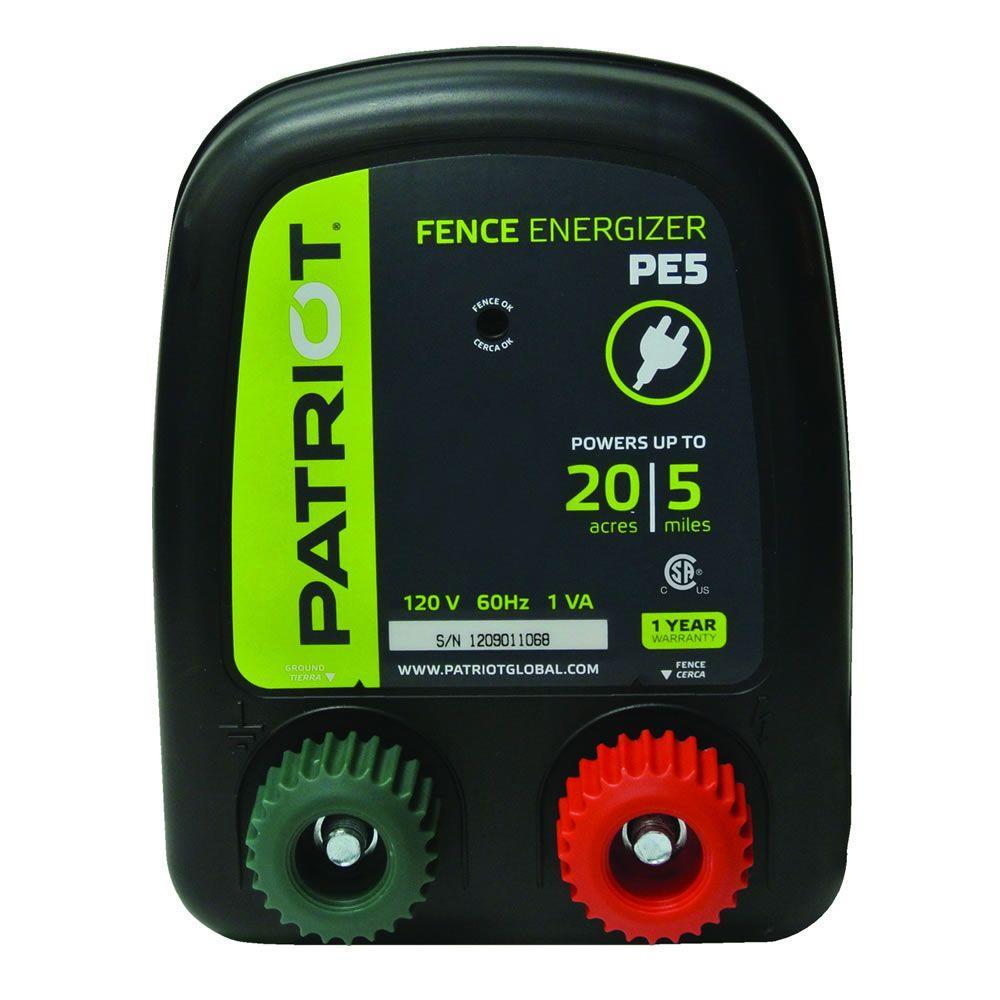 PE5 Fence Energizer - 0.20 Joule