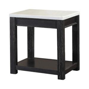 Magnificent Casual Home Bay View Black End Table 363 12 The Home Depot Short Links Chair Design For Home Short Linksinfo