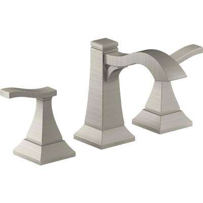 Truss 8 in. Widespread 2-Handle Bathroom Faucet in Vibrant Brushed Nickel