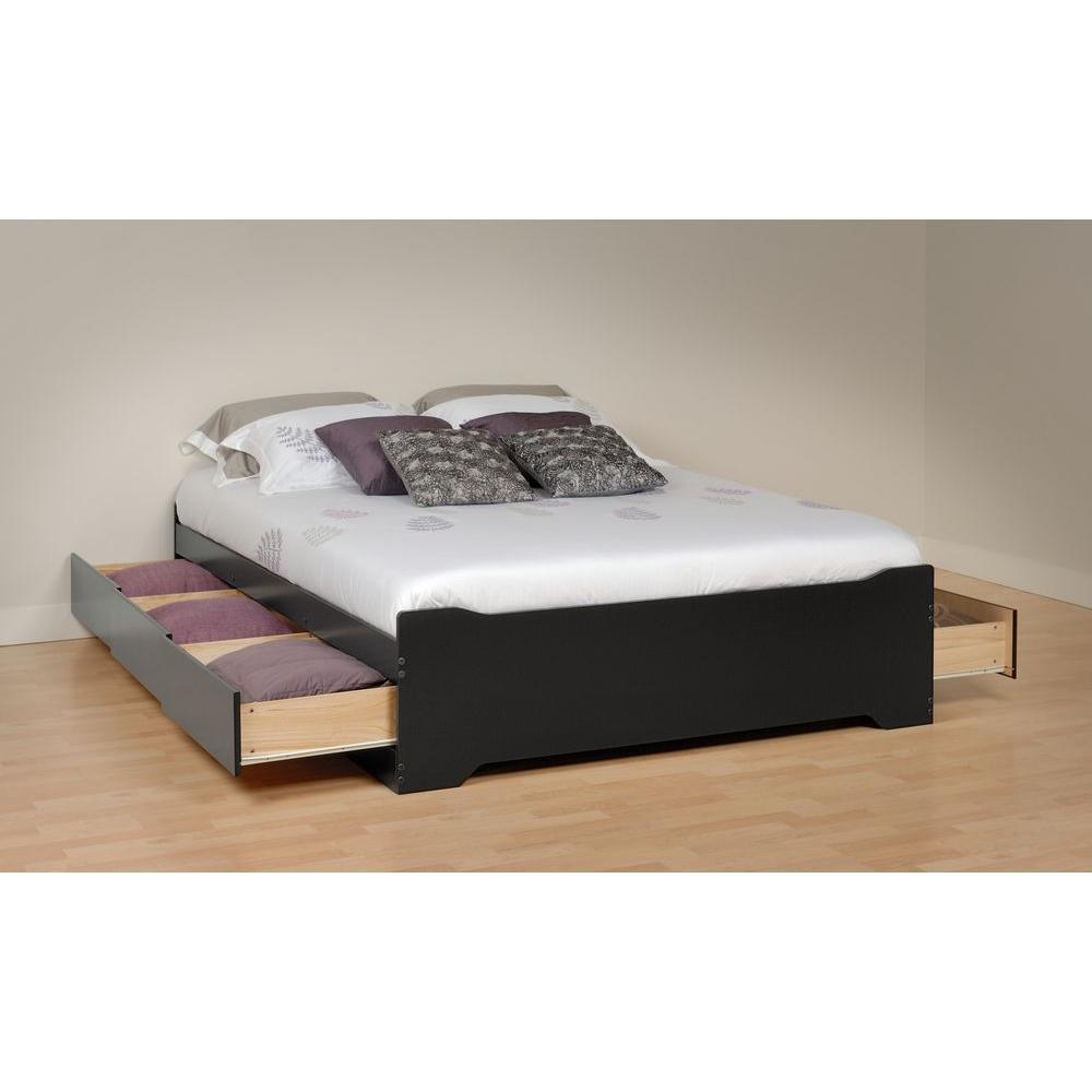 Sonoma King Wood Storage Bed