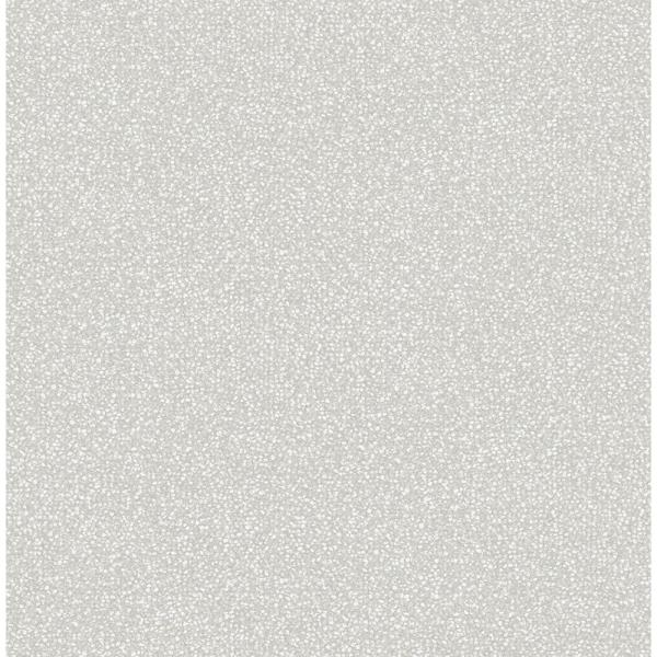 A-Street 56.4 sq. ft. Twinkle Grey Texture Wallpaper 2763-24247