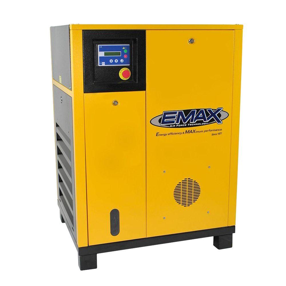 Premium Series 5 HP 1-Phase Electric Rotary Screw Air Compressor