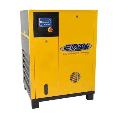 Premium Series 5 HP 3-Phase Electric Rotary Screw Air Compressor
