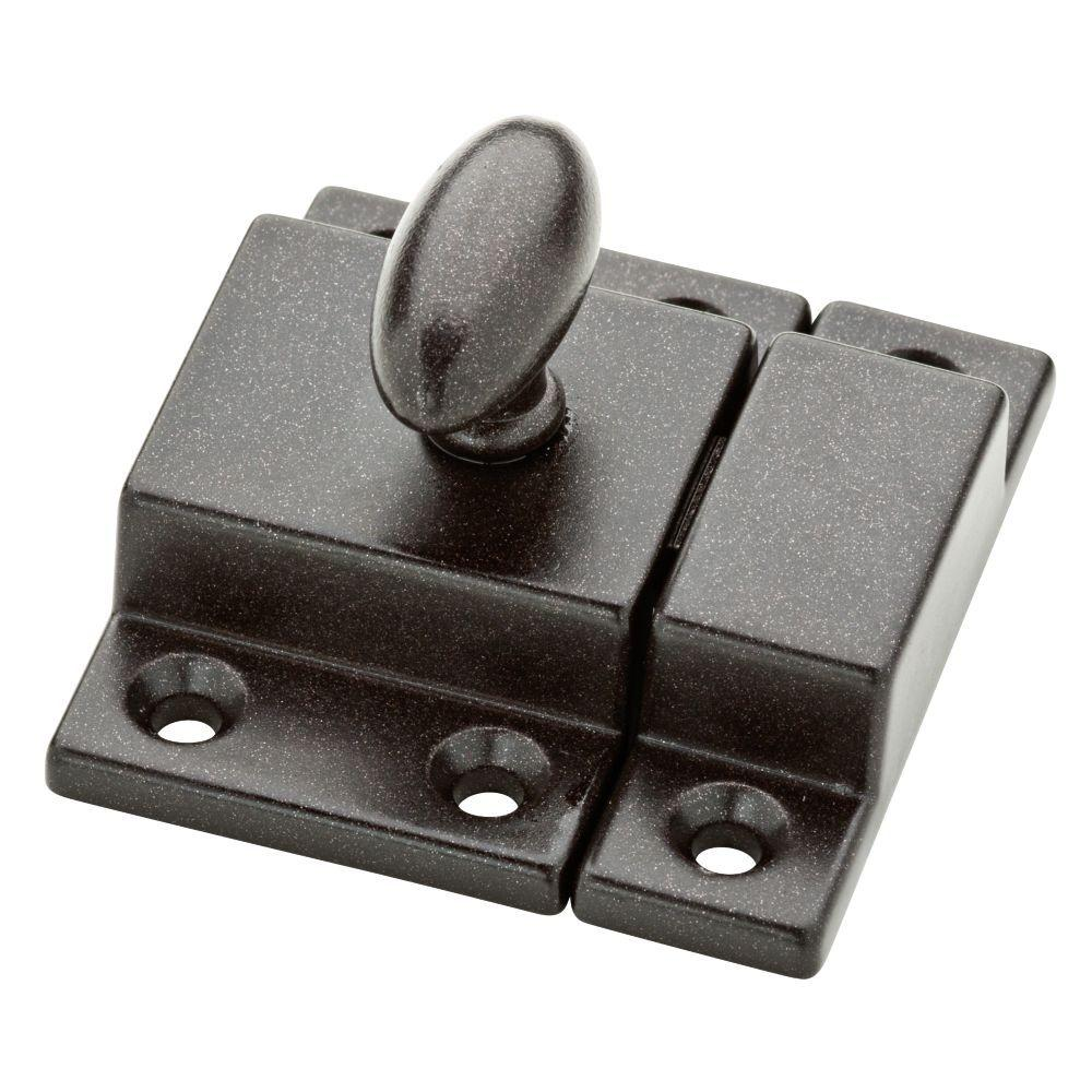Liberty 2 in. Cocoa Bronze Matchbox Door Latch-P21221C-CO ...