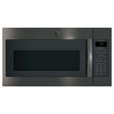 Adora 1.9 cu. ft. Over the Range Sensor Microwave Oven in Black Stainless Steel