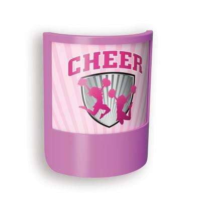 Purple Cheerleader Shade LED Night Light