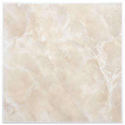 Gamma Beige 11-3/4 in. x 11-3/4 in. Ceramic Floor and Wall Tile (11 sq. ft. / case)