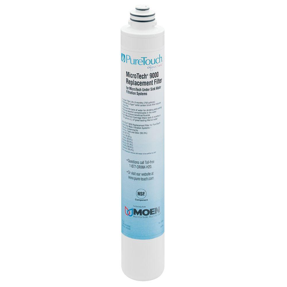 MOEN Microtech 9000 Replacement Filter for the Puretouch Aquasuite Water Filtration System