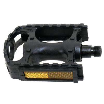 9/16 in. Plastic Bicycle Pedal with Reflector