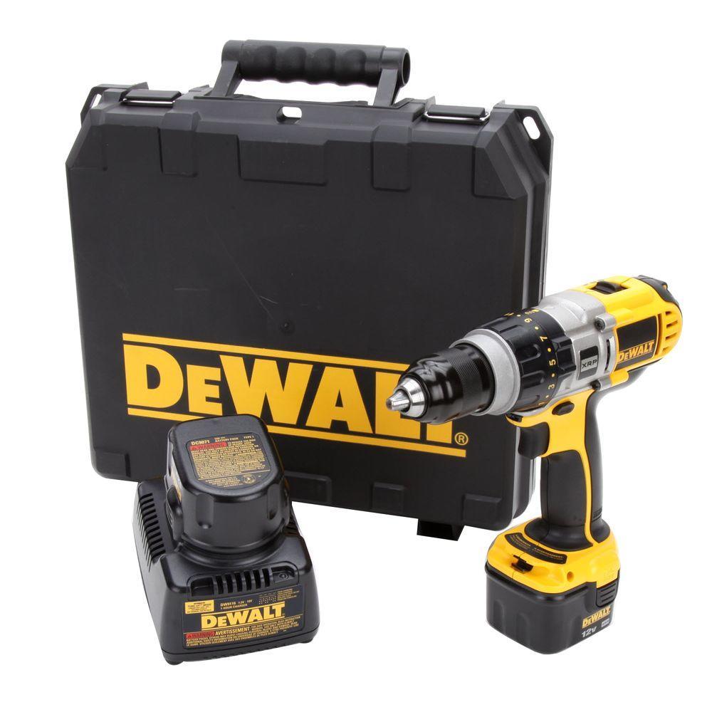DEWALT 12-Volt XRP Ni-Cad 1/2 in. Cordless Drill/Driver Kit