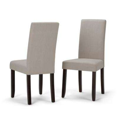 Acadian Natural Parsons Dining Chair (Set of 2)