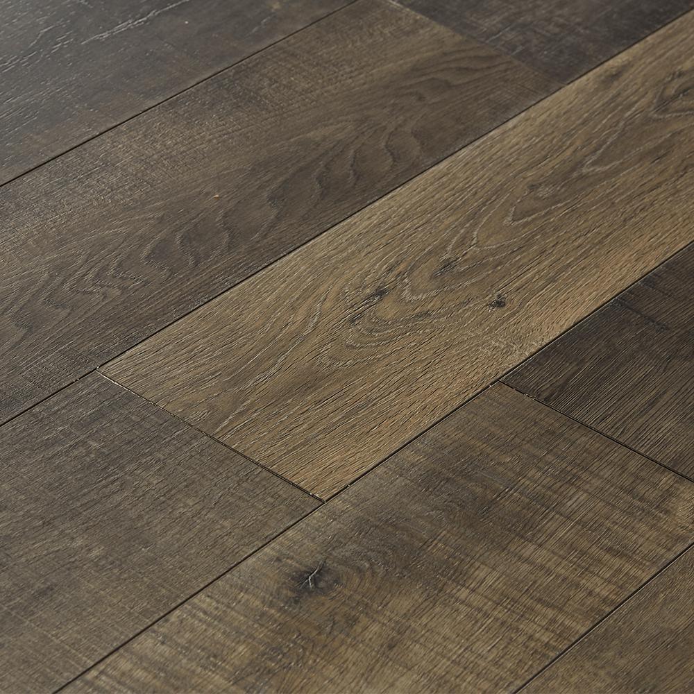 Take Home Sample - EIR Sky Gray Oak Laminate Flooring - 5 in. x 7 in.