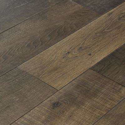 Take Home Sample - EIR Sky Gray Oak Laminate Flooring - 5 in. x 7 in.