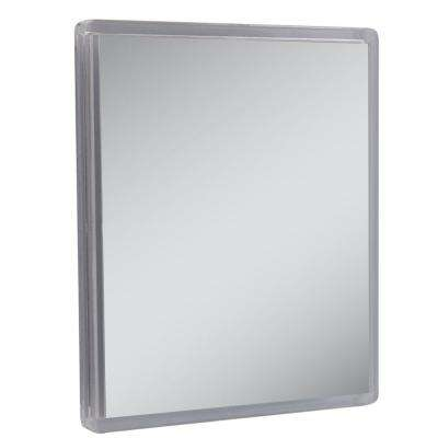 Fog-free Suction Cup Makeup Mirror in Clear