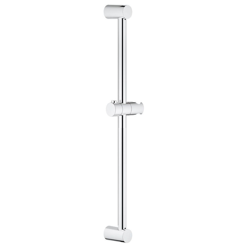 GROHE New Tempesta Cosmopolitan 24 In. Shower Bar In StarLight  Chrome 27521000   The Home Depot