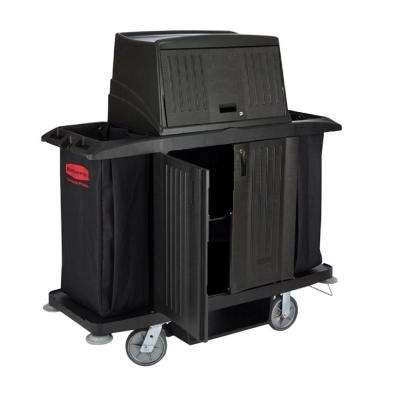 Rubbermaid Commercial Products Full-Size Housekeeping Cart with Doors by Rubbermaid Commercial Products