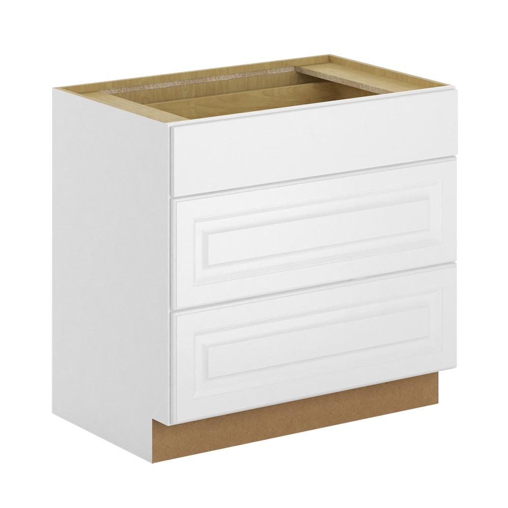 Hampton Bay Madison Assembled 36x34.5x24 In. Pots And Pans