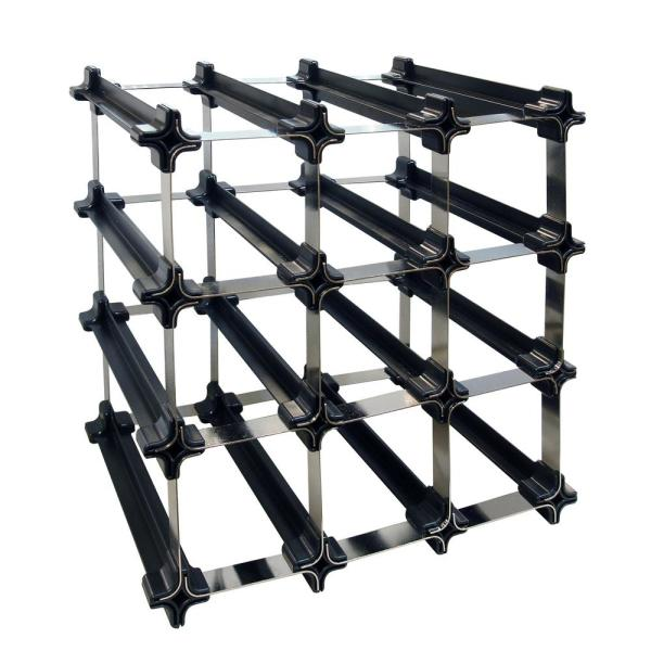 Epicureanist 12-Bottle Snap and Stack Rack EP-12BP