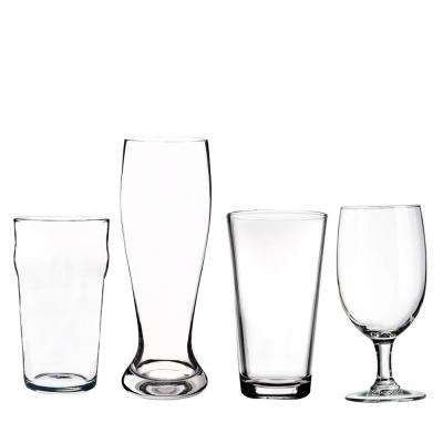 Assorted Glass Beer Set (Set of 4)