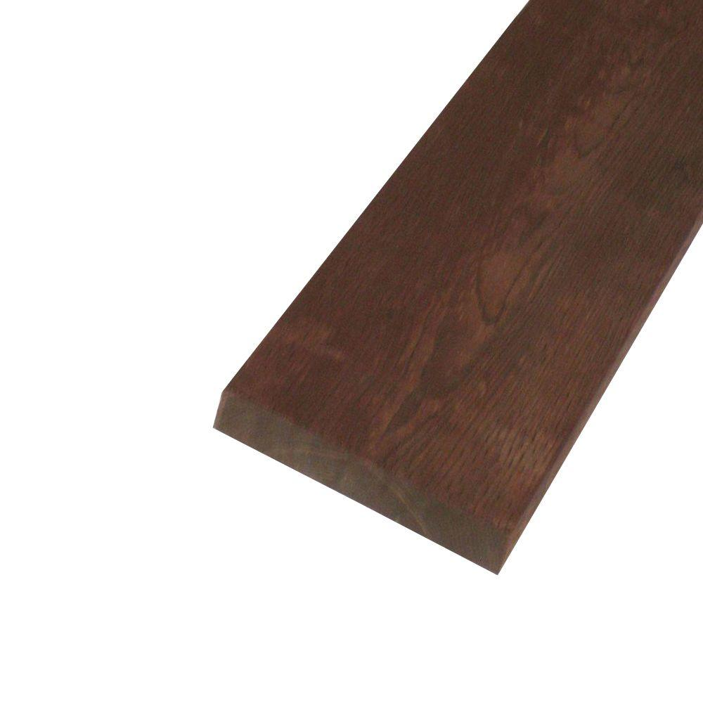 null Pressure-Treated Lumber HF Brown Stain (Common: 2 in. x 10 in. x 16 ft.; Actual: 1.5 in. x 9.25 in. 192 in.)