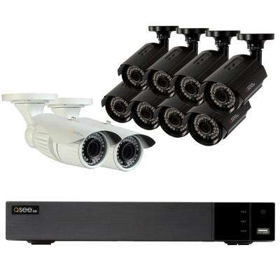 16-Channel 1080p 2TB Video Surveillance System with 8 1080p Bullet Cameras and 2 1080p Auto-Zoom Bullet Cameras