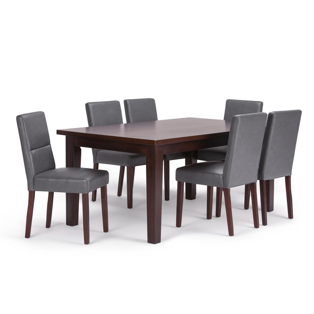 Ashford 7-Piece Stone Grey Dining Set