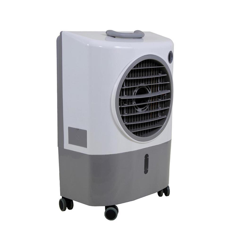 Hessaire 1,300 CFM 2-Speed Portable Evaporative Cooler (Swamp Cooler) for 500 sq. ft.