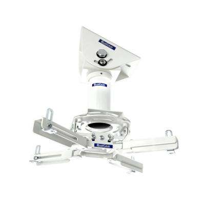 Pro-AV Projector Mount Kit with a Vaulted Ceiling Adapter, 3 in. 1.5 in., White