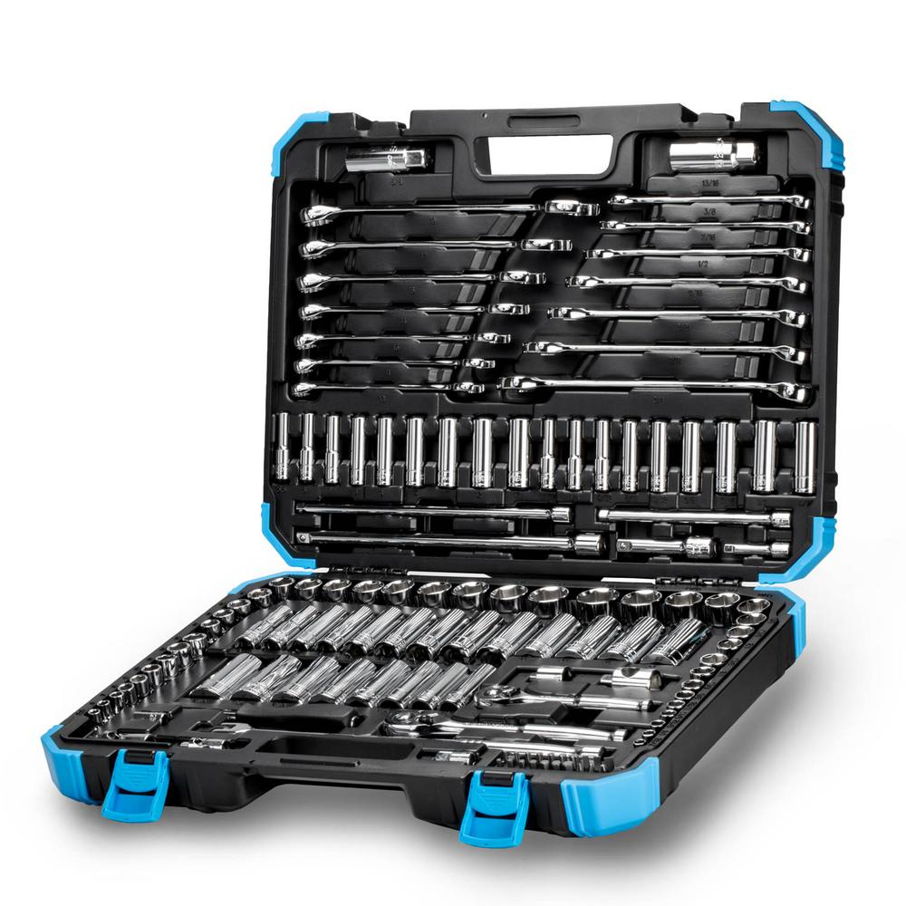 Master Mechanics Tool Set (128-Piece)