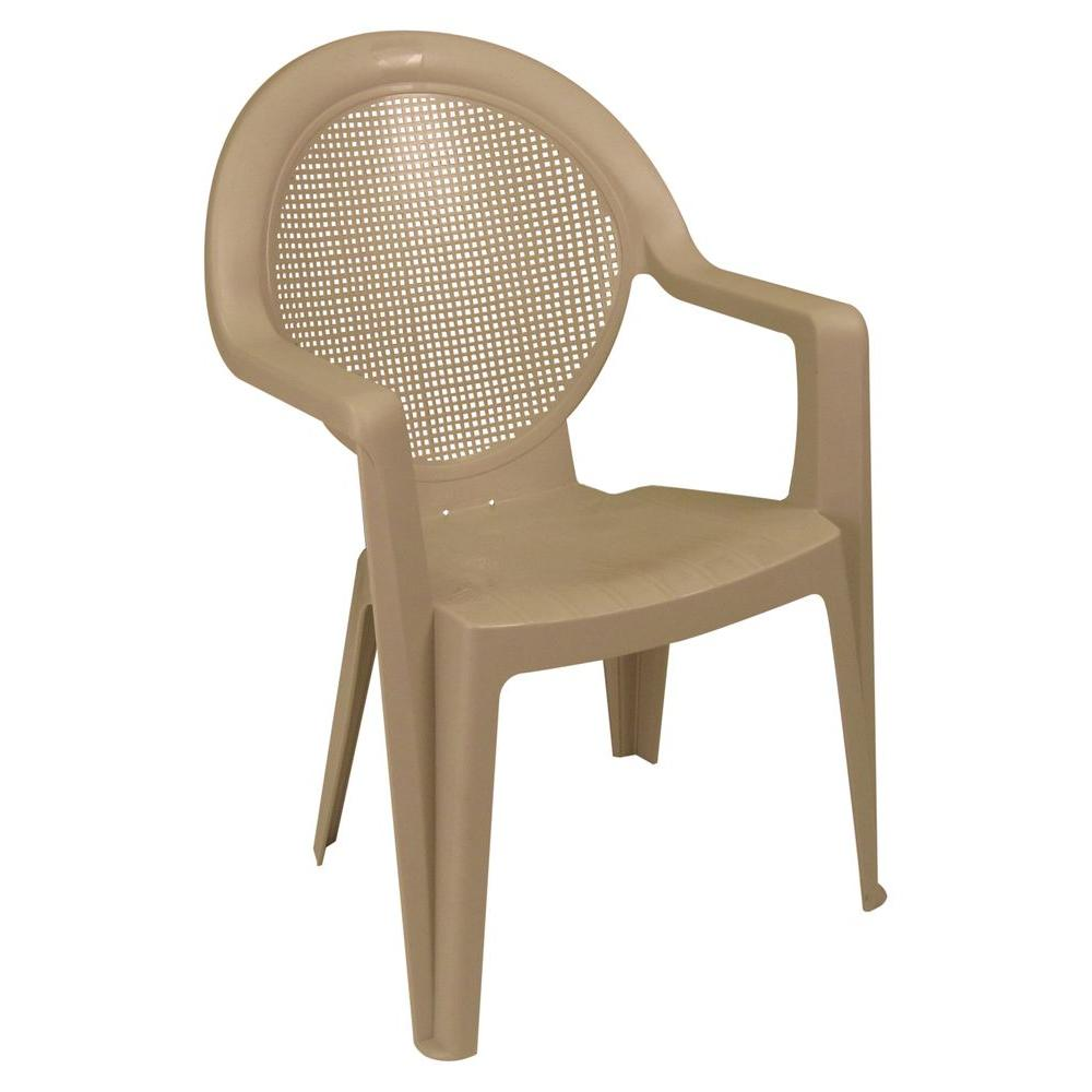 madras high back patio club chair us457110 the home depot rh homedepot com US Leisure High Back Chairs US Leisure High Back Chairs
