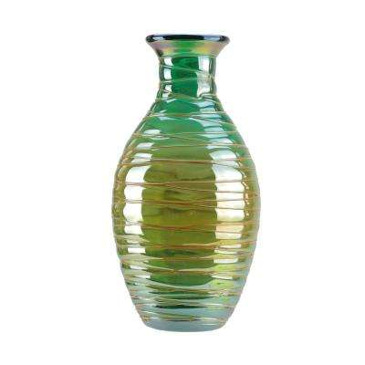 Teal Blue Vases Decorative Bottles Home Accents The Home Depot