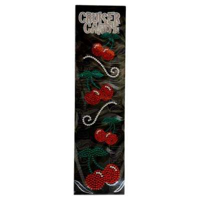 Bling Cherry Bicycle Decals