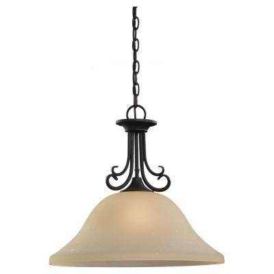 Del Prato 1-Light Chestnut Bronze Pendant