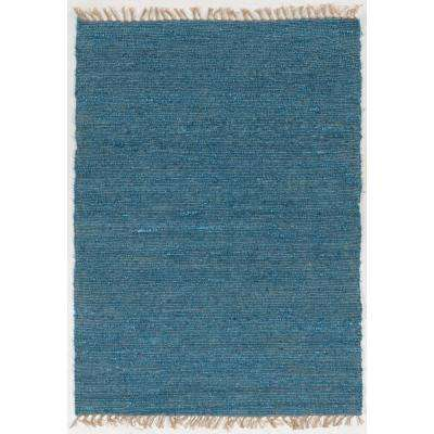Veriagated Loop Sage  5 ft. x 8 ft. Rectangle Area Rug