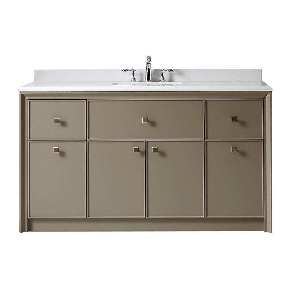 Parrish 60 in. W x 22 in. D Bath Vanity in